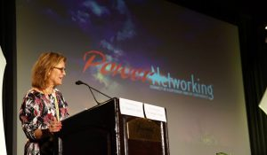 Debbie Gerlicher at Power Networking Conference 2015