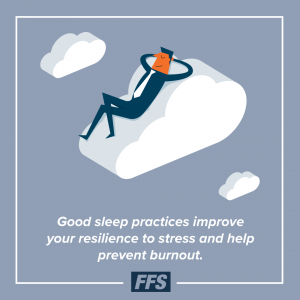 Maintain a healthy sleep cycle