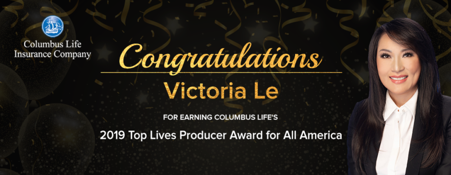 FFS' Victoria Le Honored with 2019 Top Lives Producer Award by Columbus Life