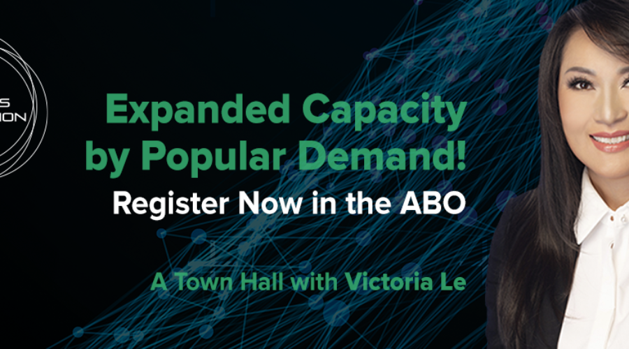 LC21 Update: Extended Capacity for Town Hall with Victoria Le