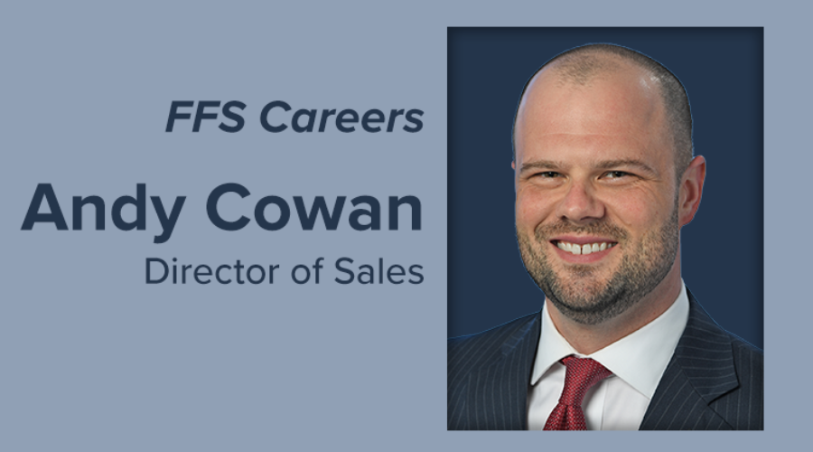 Andy Cowan Appointed as Director of Sales