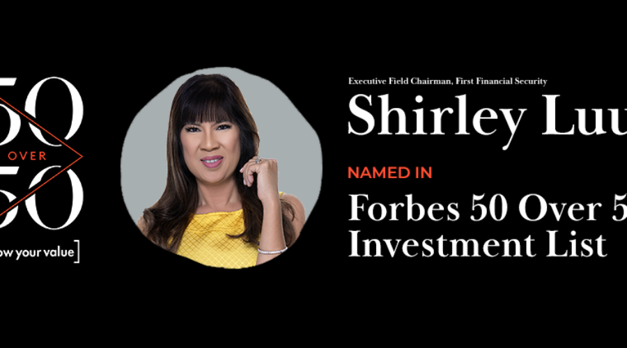 Shirley Luu Makes Forbes 50 over 50 – Investment 2021 List